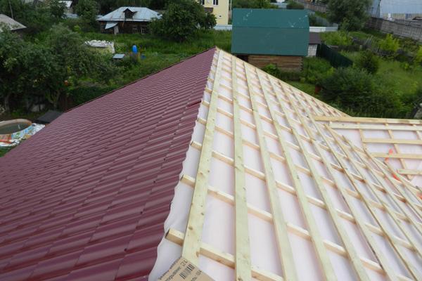 Контр обрешетка на крышу