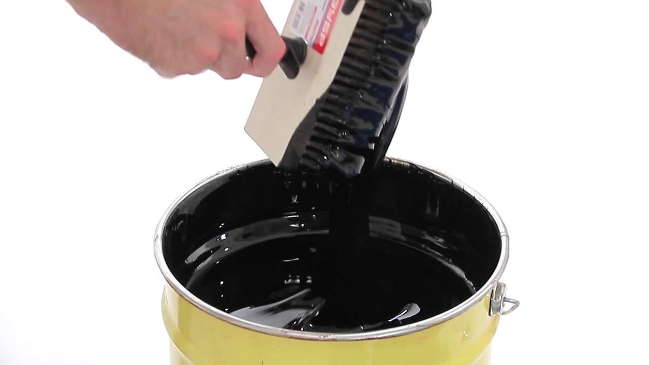 Битумная мастика приготовление своими руками 454