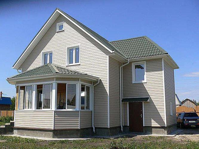 Сколько стоит обшить дом сайдингом примерные цены